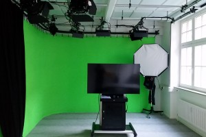 Neues TV-Studio