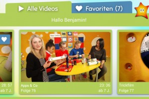 Kirchenmaus Benjamin in der Bibel TV Kids App